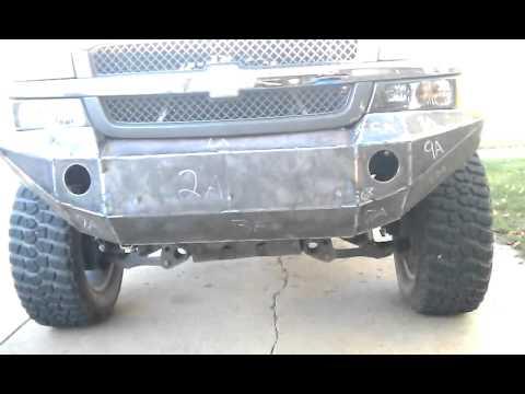 My bumper build