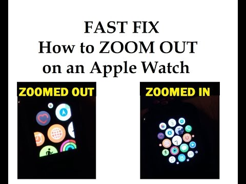 FAST FIX - How to Zoom Out In on an Apple Watch Series 3