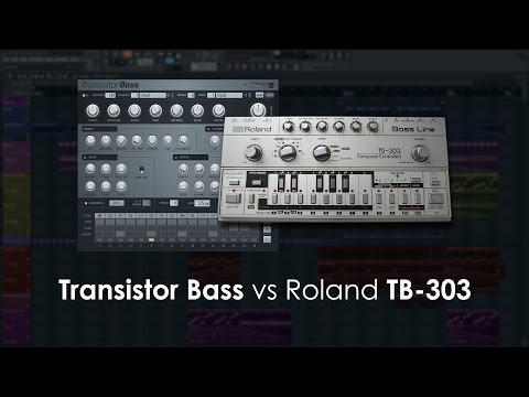 Image-Line | Transistor Bass 1.1 vs Real Roland TB-303