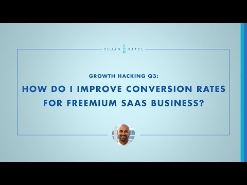 Growth Q&A: How to improve conversation rates for a freemium SaaS company