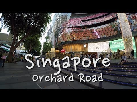 Ep 07 Singapore - Walking Orchard Road & 2017 Christmas decorations