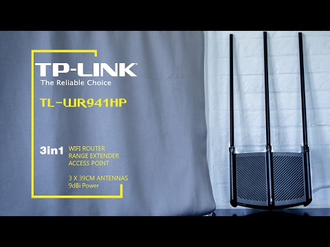 Setting TP-LINK TL-WR941HP Access Point Range Extender WIFI Router