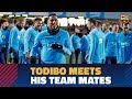Todibos First Training Session With FC Barcelona