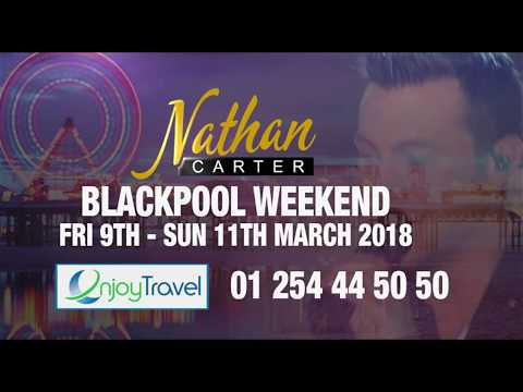 Nathan Carter Blackpool Weekend 9th - 11th March 2018