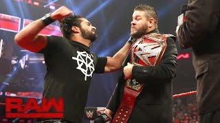 Seth Rollins interrupts Kevin Owens