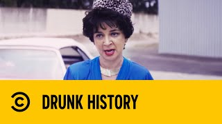 The Black Widow v The Cartel - Drunk History   Comedy Central