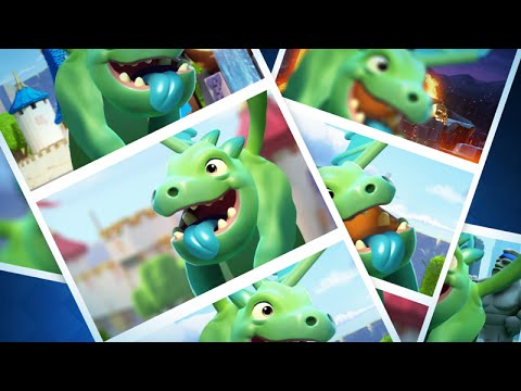 Clash Royale: Baby Dragon Raps