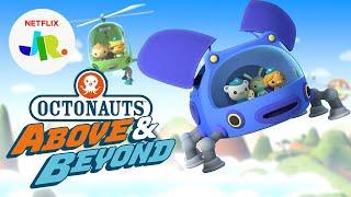 Octonauts: Above & Beyond NEW Series Trailer   Netflix Jr