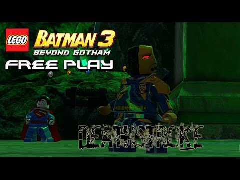 Free Play: Deathstroke - LEGO Batman 3: Beyond Gotham