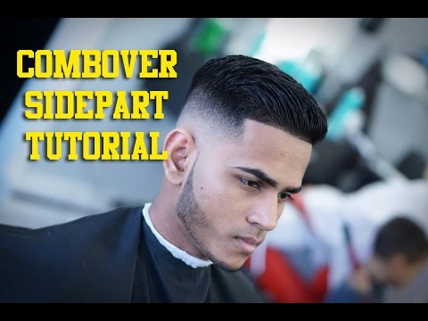 Combover Sidepart Tutorial - Step by Step HOW TO