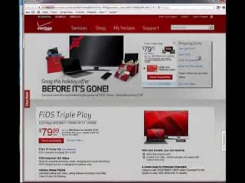 Verizon FiOS Coupon Code Promotional Offer 2014-Best FiOS