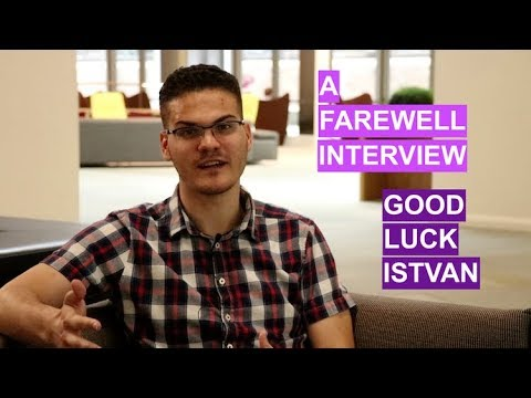 Istvan ep. 7 - Goodbye and Good Luck | The Great Grad Job Hunt
