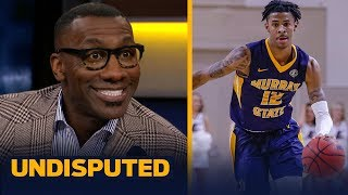 Shannon Sharpe is excited for Ja Morant's NBA future after March Madness debut | CBB | UNDISPUTED