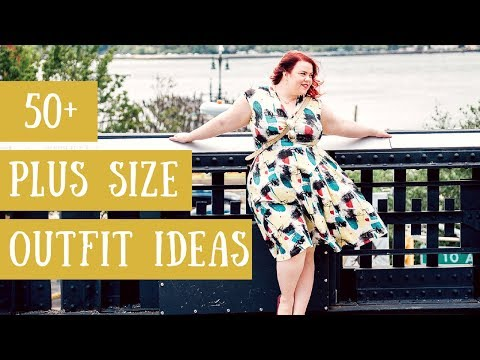 50 PLUS-SIZE OUTFIT IDEAS | Plus SIze Fashion Gwynnie Bee Review