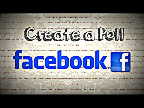 How To Create Poll On Facebook Group | Make A Poll on Facebook |