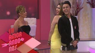¡Fredy 'Lapizito' y Daniela se besan! | Enamorándonos