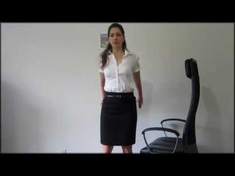 Office desk exercises to straighten your posture at work!