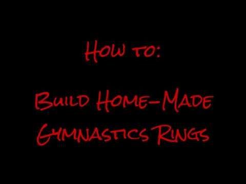 How to build Home Gymnastics Rings - DIY