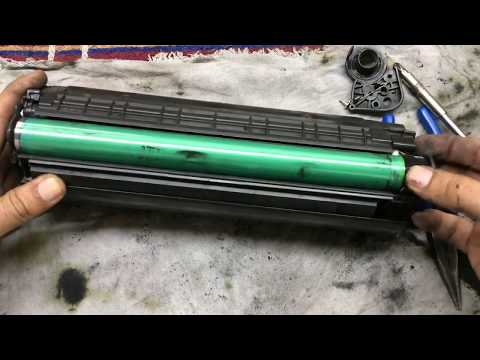 how to refill ink 12A toner cartridge Hp 1007, hp 1015, hp M1005,  Canon LBP2900 printer