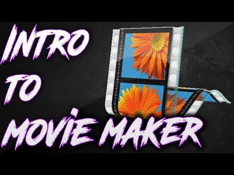 Introduction to Movie Maker 2017