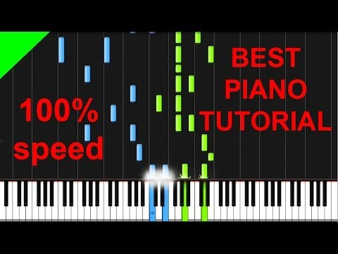 Panic! At The Disco - The End Of All Things piano tutorial