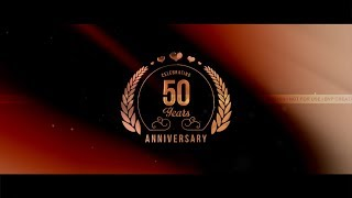 Anniversary invitations videos ytube 50th wedding anniversary invite video golden jubilee i save the date stopboris Images