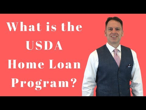 What is the USDA Home Loan in California