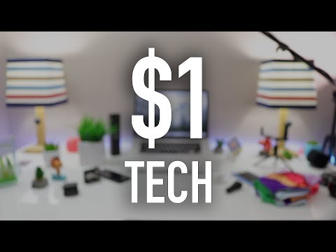 Top 10 Budget Tech Under a $1 | Best Tech Cool Tech Deals 2018 - v2