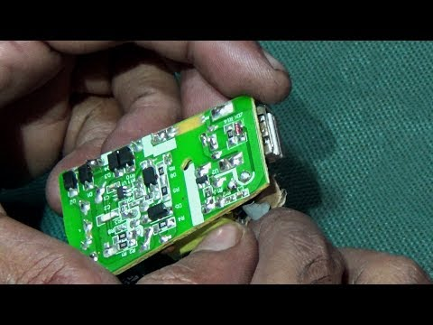 How To Repair Mobile Phone Charger (Tutorial Videos)