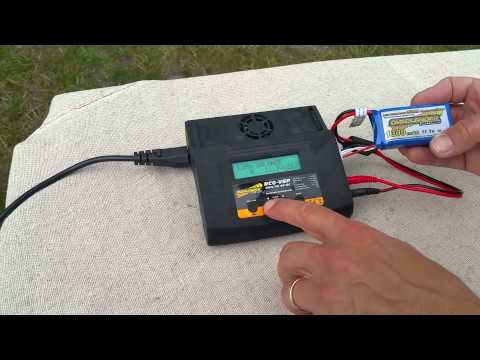 How to charge a lipo battery for an rc car