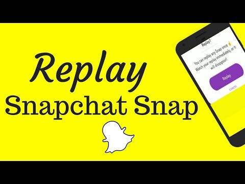 How to Replay a Snapchat Snap