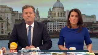 Good Morning Britain: London Tower Block Fire - 14th June 2017