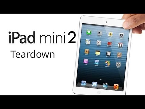 iPad Mini 2 Completely Disassembly/ Tear Down/ Crack Screen Replacement