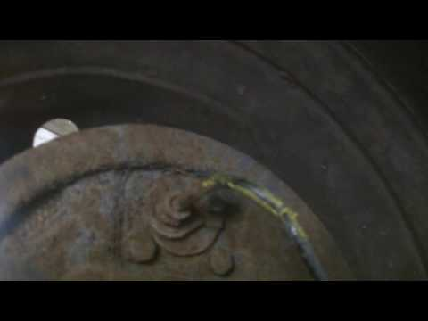 How to remove seized frozen rusty brake lines