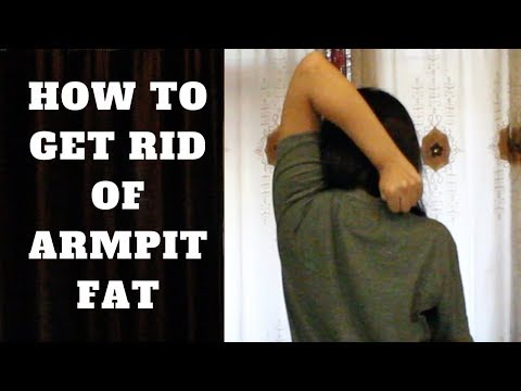 How To Get Rid Of Armpit Fat | 5 Simple Exercises | WORKitOUT