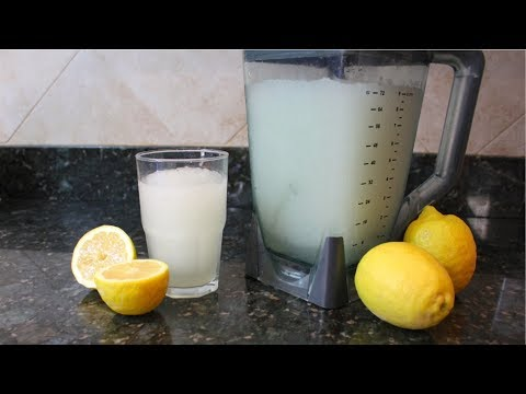 Homemade Frozen Lemonade Recipe With Fresh Lemons: How To Make Lemonade