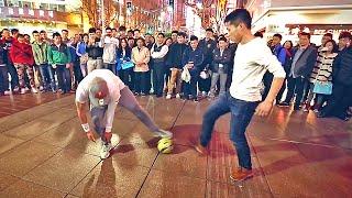 Séan Garnier ● Crazy Street Football Skills, Panna