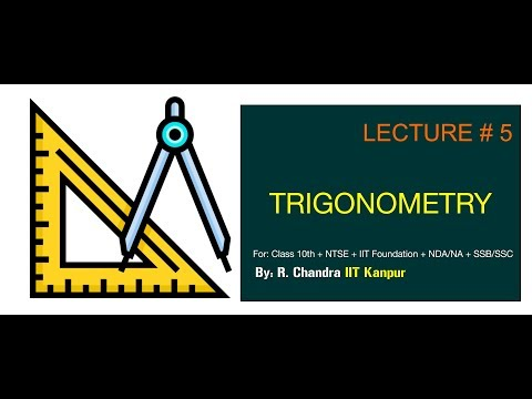 Trigonometric Table for standard angles | Class 10 | CBSE ICSE and HSC Board | Lecture - 5