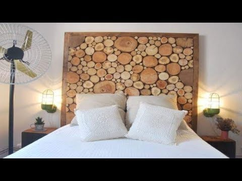 Creative Ideas DIY Wooden Headboards Designs
