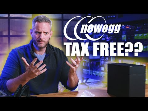 Newegg sales tax problems... is it REALLY tax free??