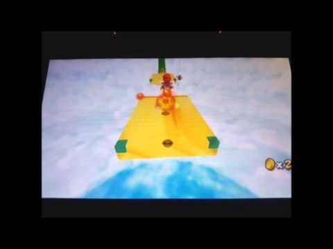 Super Mario Galaxy 2: Custom Levels #04 - Cloudy Course Galaxy