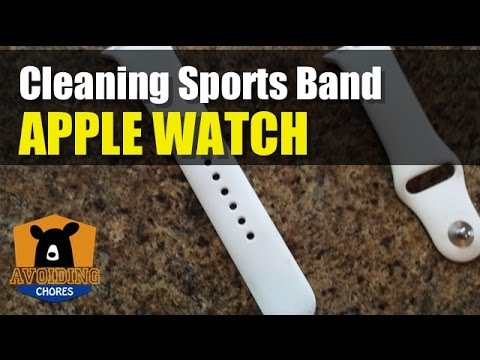 How To Clean Apple Watch Sports Band