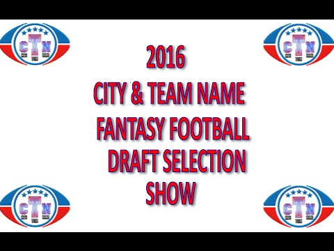 2016 Draft Selection Show