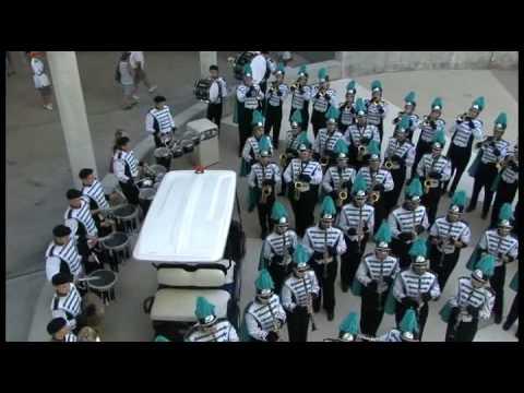 Gulf Coast High School 'Shark' Marching Band- Bend Me Shape Me