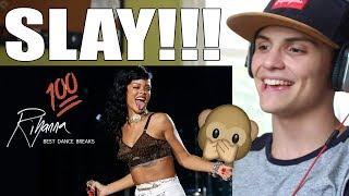 Rihanna Best Dance Breaks REACTION