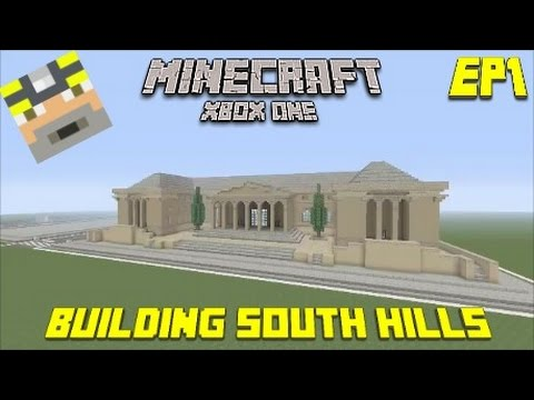 First Video Minecraft Xbox one: Building South Hills - Episode 1 (City Hall)