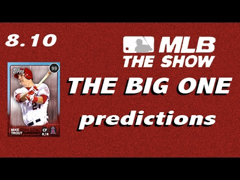 MLB 15 The Show - BIG ROSTER UPDATE Predictions