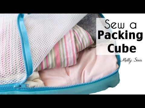 How to Sew and Use Packing Cubes