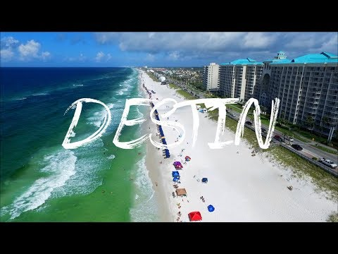Destin & Miramar Beach FLORIDA by Drone