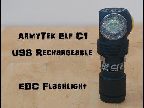 Armytek Elf C1 - EDC Well Worth the $$$